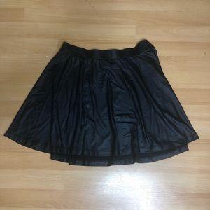 Forever 21 leather skirt